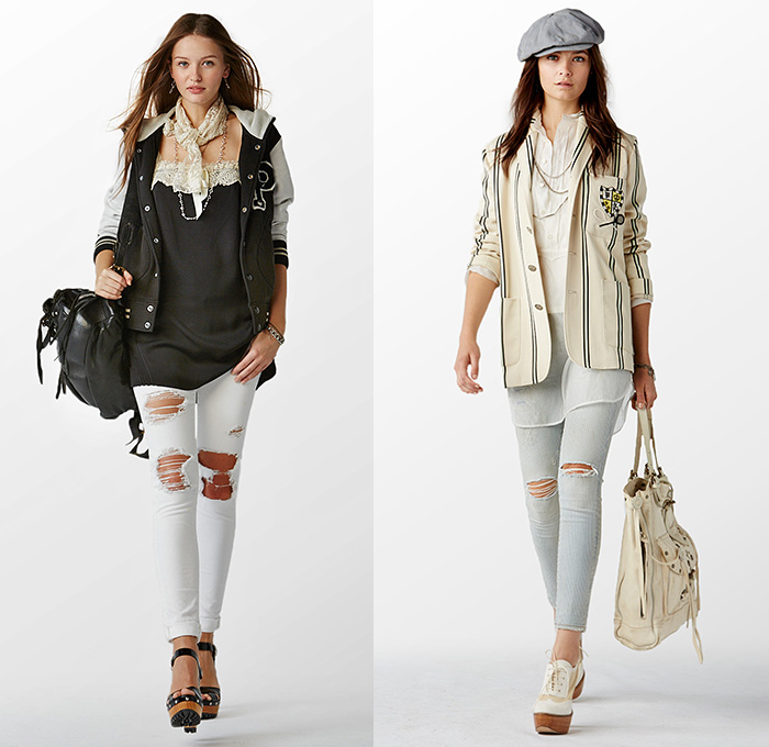 Polo Ralph Lauren 2015 Spring Summer Womens Lookbook Presentation - New  York Fashion Week - Denim e5e2320edd