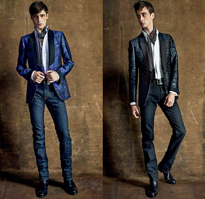 Tom Ford 2015 Spring Summer Mens Looks Denim Jeans