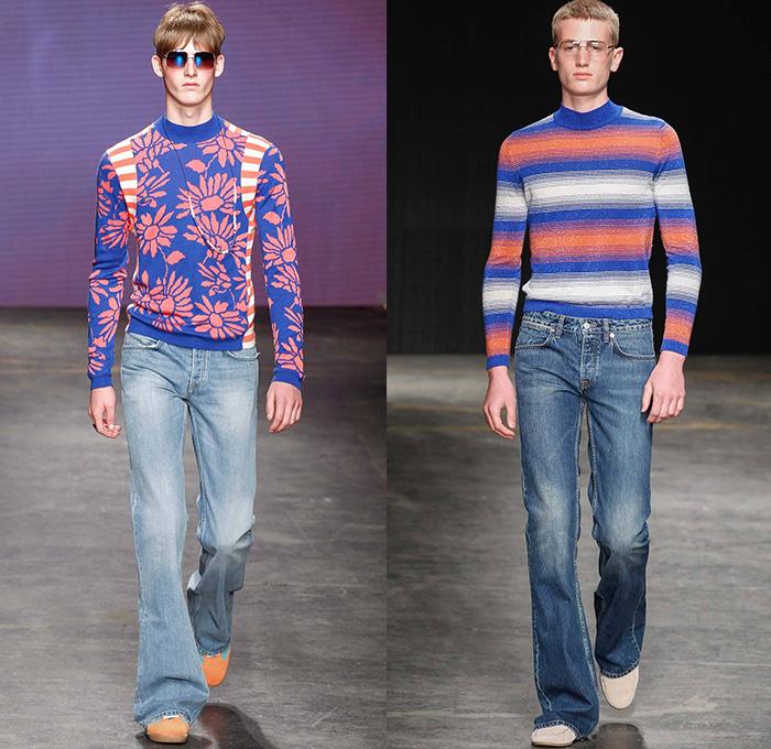 Topman Design 2015 Spring Summer Mens Runway Looks Denim Jeans Fashion Week Runway Catwalks