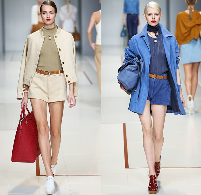 Trussardi 2015 Spring Summer Womens Runway Denim Jeans