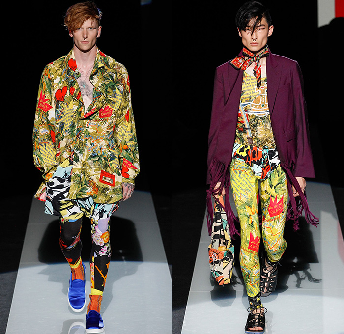 2017 ss fashion trend - Vivienne Westwood 2015 Spring Summer Mens Runway Denim