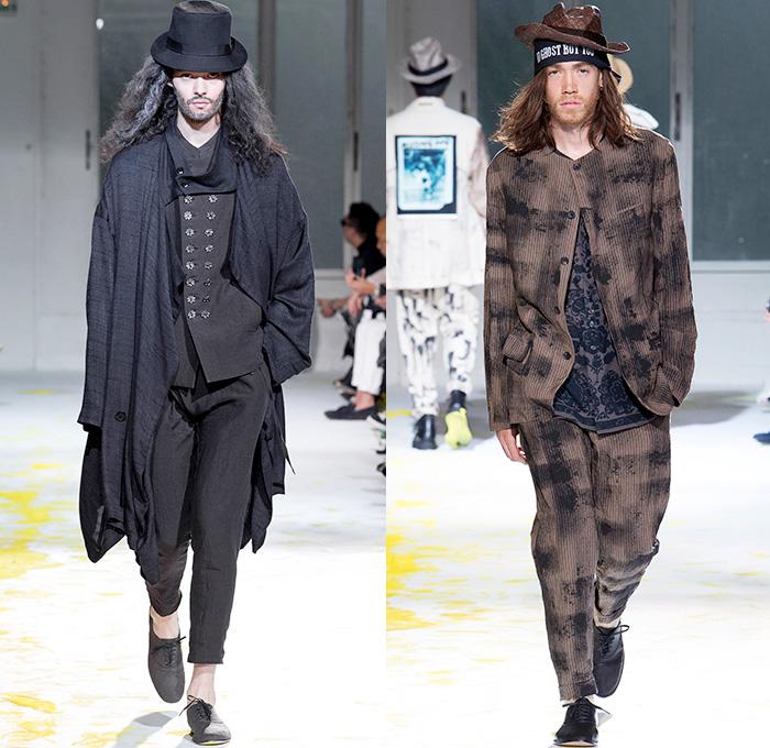 Yohji Yamamoto 2015 Spring Summer Mens Runway   Denim Jeans ...