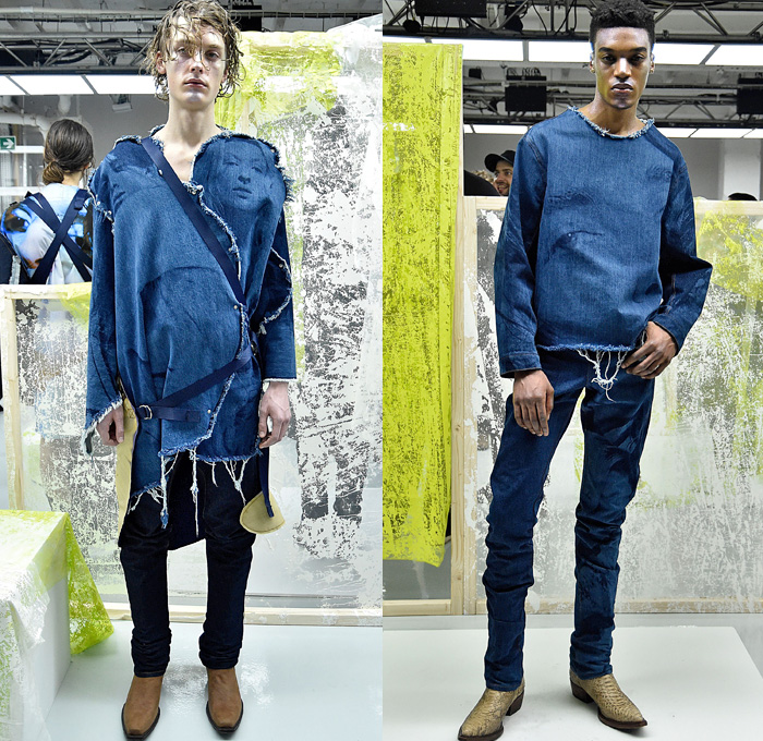 Alex Mullins 2016-2017 Fall Autumn Winter Mens Looks | Denim Jeans ...