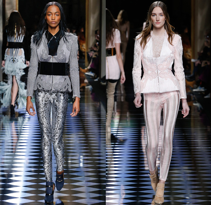 Balmain 2016-2017 Fall Autumn Winter Womens Runway