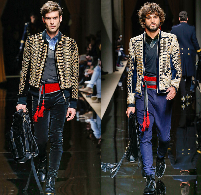 Mens fashion forecast 2017 - Balmain 2016 2017 Fall Autumn Winter Mens Runway Denim
