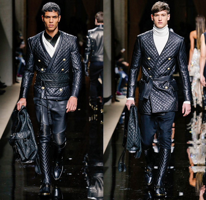 Balmain 2016 2017 Fall Autumn Winter Mens Runway Denim