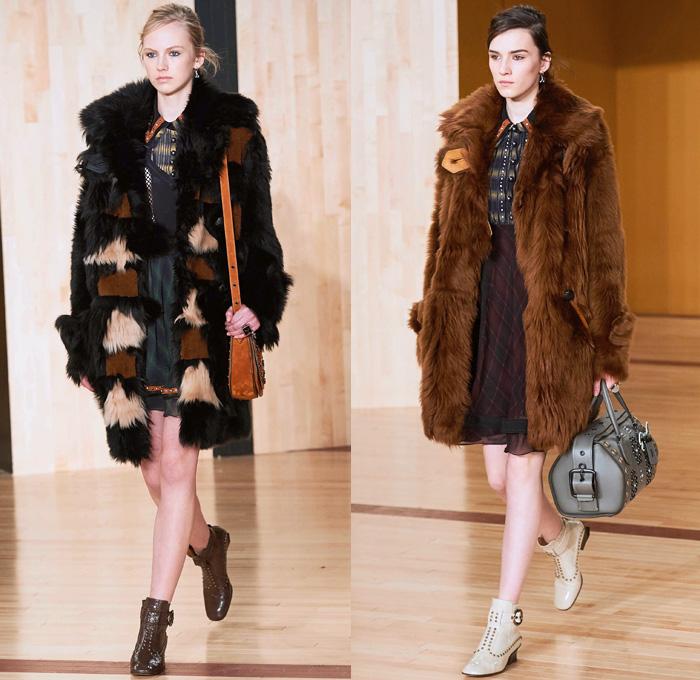 Fashion catwalk 2017 - Coach 1941 2016 2017 Fall Autumn Winter Womens Runway