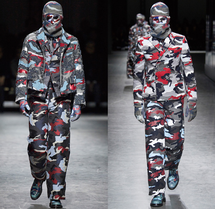 Moncler Gamme Bleu 2016 2017 Fall Winter Mens Runway