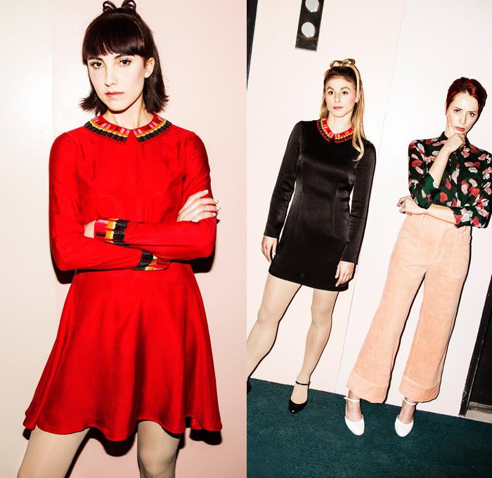 Rachel Antonoff 2016-2017 Fall Autumn Winter Womens Looks ...