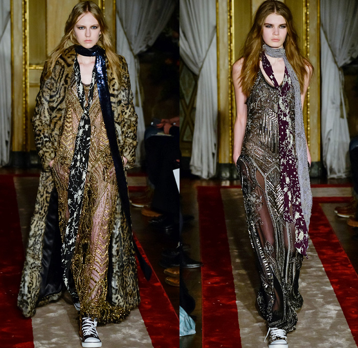 half off a2195 07774 Roberto Cavalli 2016-2017 Fall Autumn Winter Womens Runway ...
