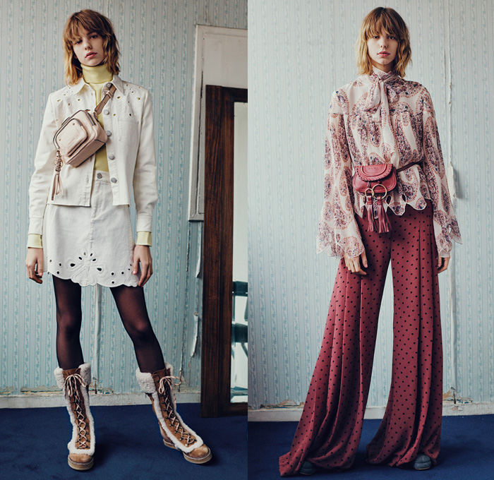 See By Chloe 2016 2017 Fall Autumn Winter Womens Lookbook Presentation