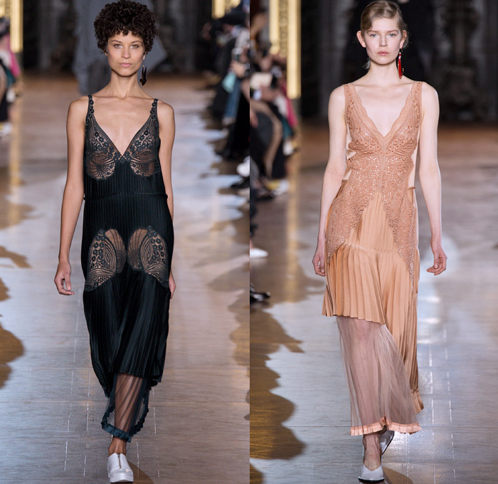 Stella Mccartney 2016 2017 Fall Autumn Winter Womens Runway Catwalk Collection Looks Paris Fashion