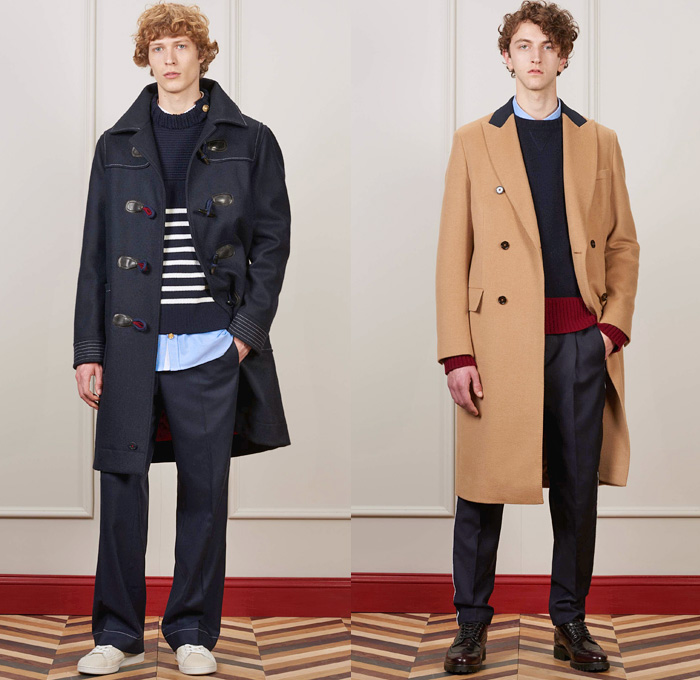 befad6022fd Tommy Hilfiger 2016-2017 Fall Autumn Winter Mens Lookbook Presentation -  New York Fashion Week