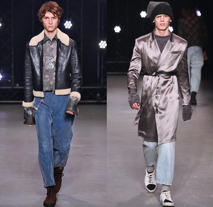 Raw Denim Jeans Mens