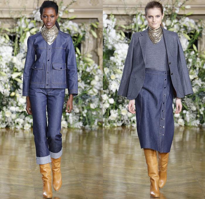 Vanessa seward 2016 2017 fall autumn winter womens denim - Jeans trend 2017 ...