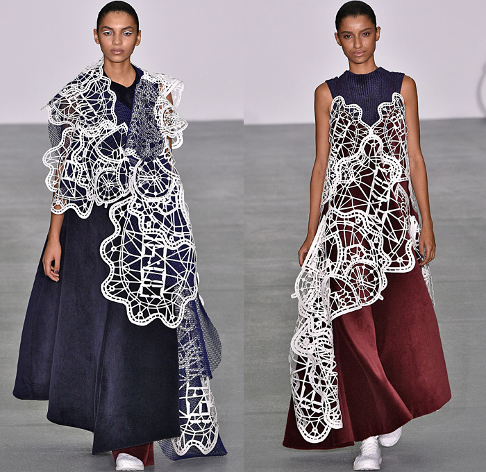 2017 fw fashion trend - Xiao Li 2016 2017 Fall Autumn Winter Womens Runway Catwalk