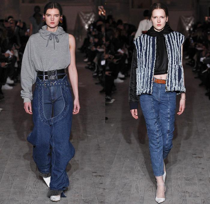 Looks - Paris Fashion Week Mode à Paris France - Denim Jeans ...