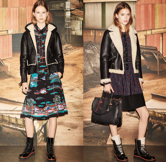 Coach 1941 2016 Pre Fall Autumn Womens Presentation