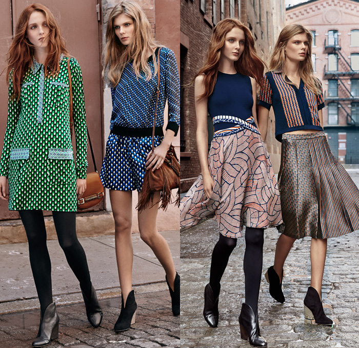 Diane Von Furstenberg 2016 Pre Fall Autumn Womens Looks