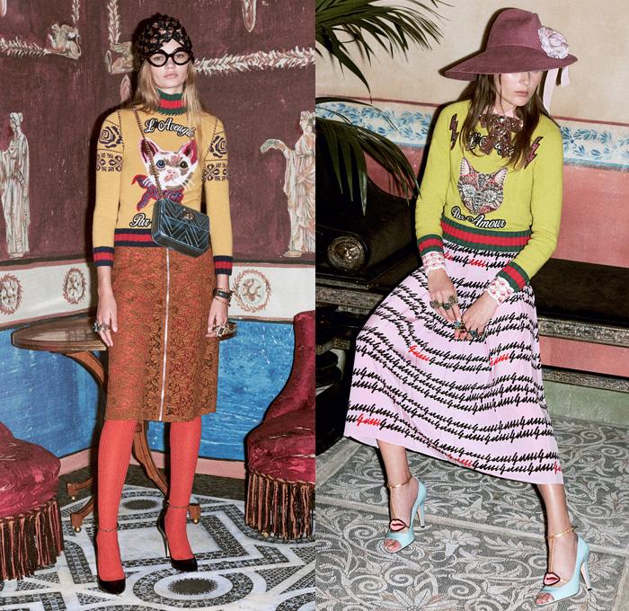 Gucci 2016 Pre Fall Autumn Womens Presentation Denim