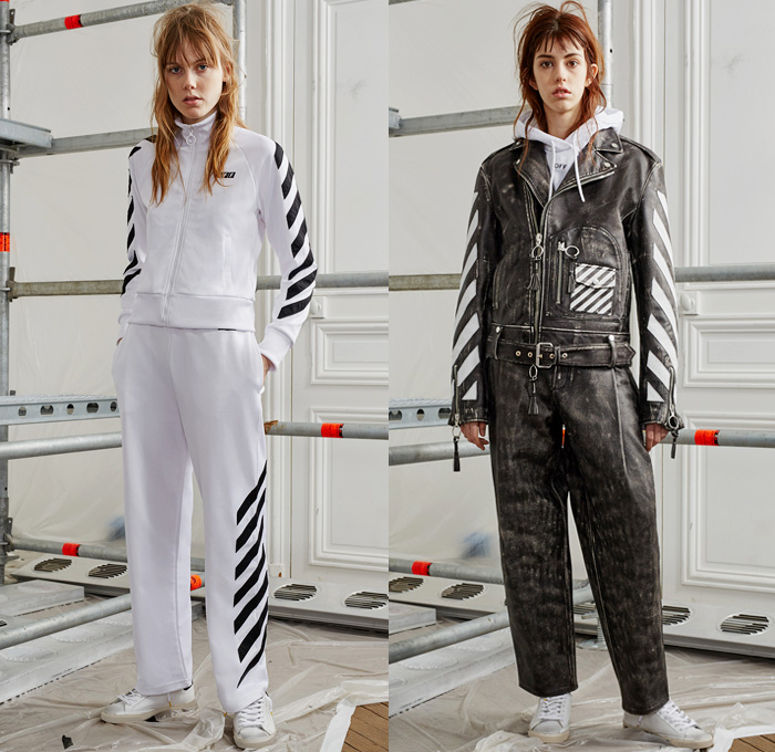 Off-White by Virgil Abloh 2016 Pre Fall Autumn Womens Lookbook Presentation  - Patchwork Lace d6425eb84d