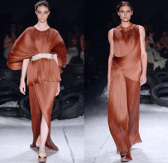 Drape Fashion Trend