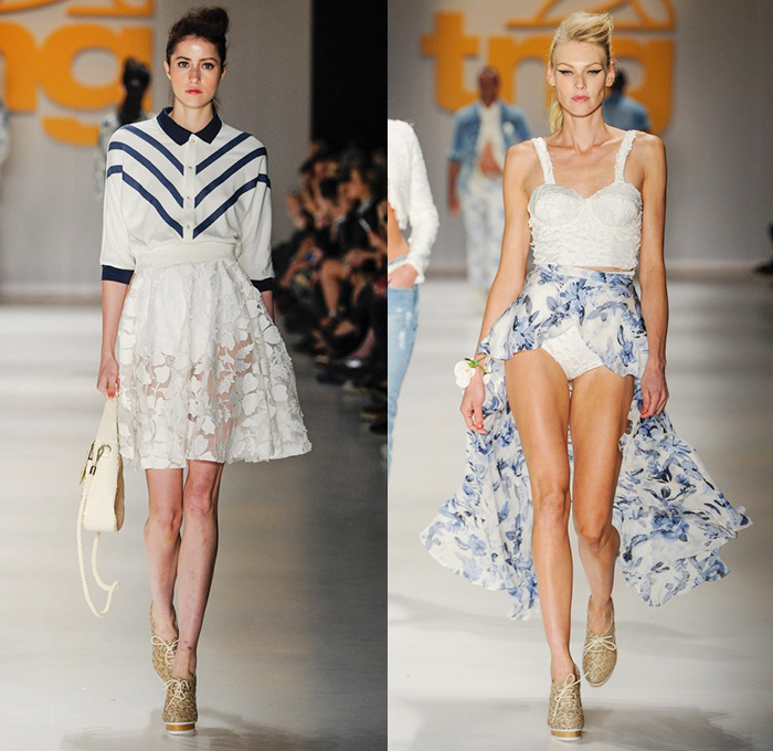 tng spring summer womens runway catwalk looks temporada vero so paulo