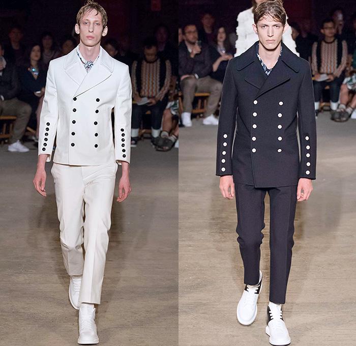 Alexander McQueen 2016 Spring Summer Mens Runway Looks ...