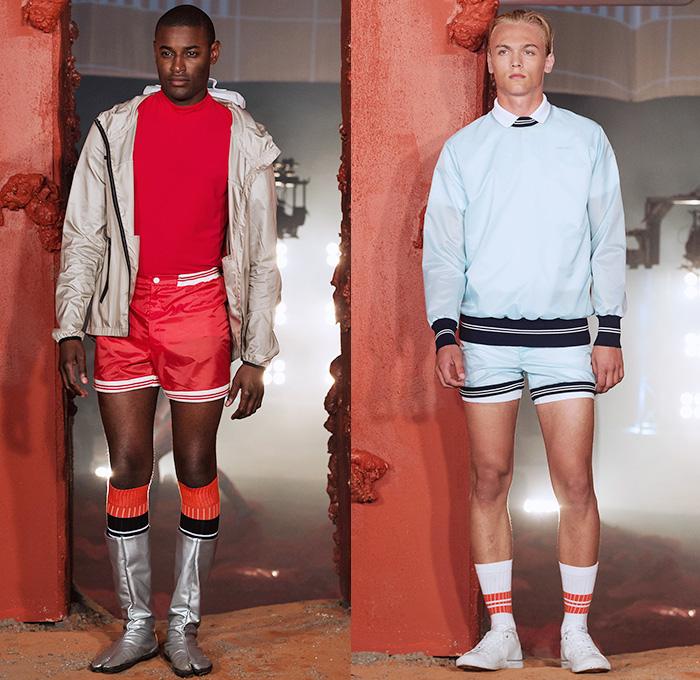 6ff89aaa0628 Björn Borg 2016 Spring Summer Mens Runway Catwalk Looks - Fashion Week  Stockholm Sweden - Training