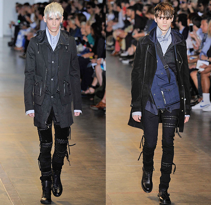 Diesel Black Gold 2016 Spring Summer Mens Runway Looks