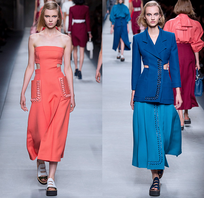 Fendi 2016 Spring Summer Womens Runway Catwalk Denim
