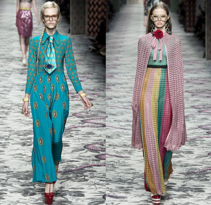 Gucci 2016 Spring Summer Womens Runway Catwalk Denim