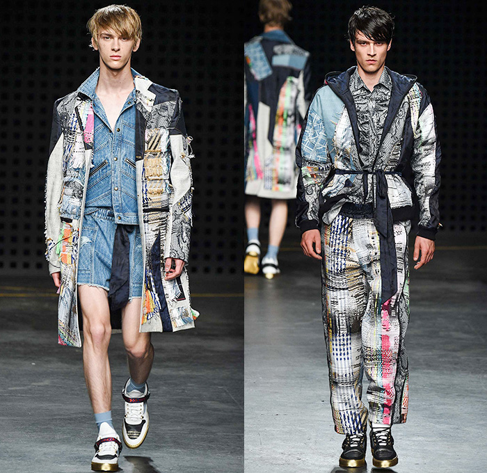 James Long 2016 Spring Summer Mens Runway Looks Denim