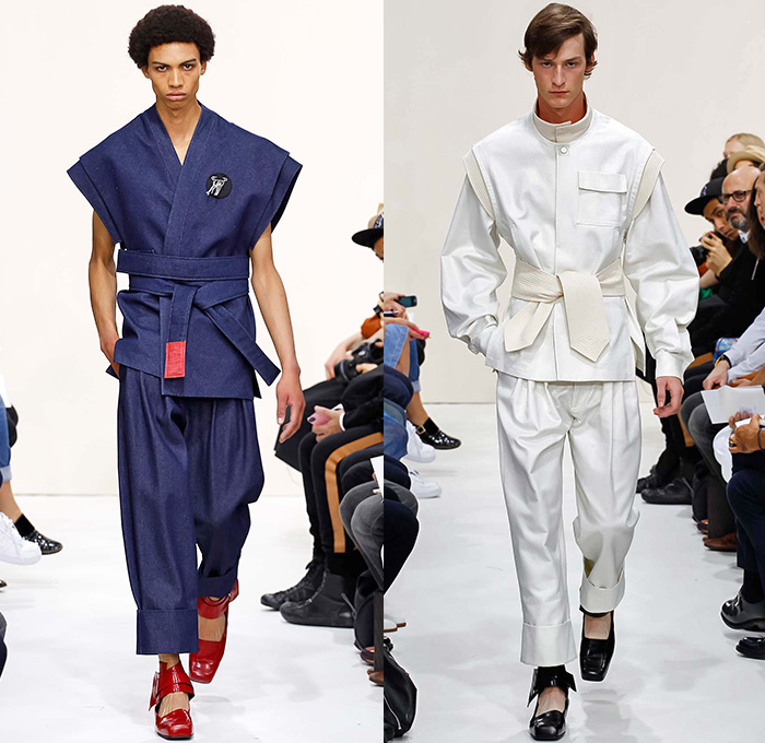 J W Anderson 2016 Spring Summer Mens Runway Looks Denim Jeans