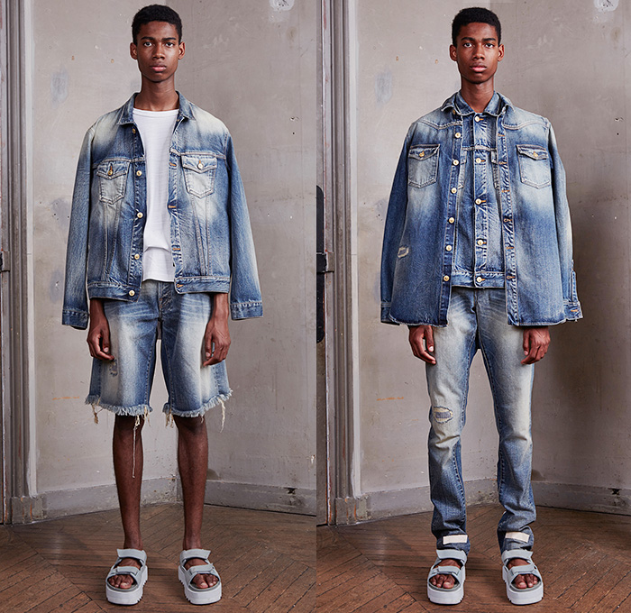 off white 2016 spring summer mens looks presentation denim jeans