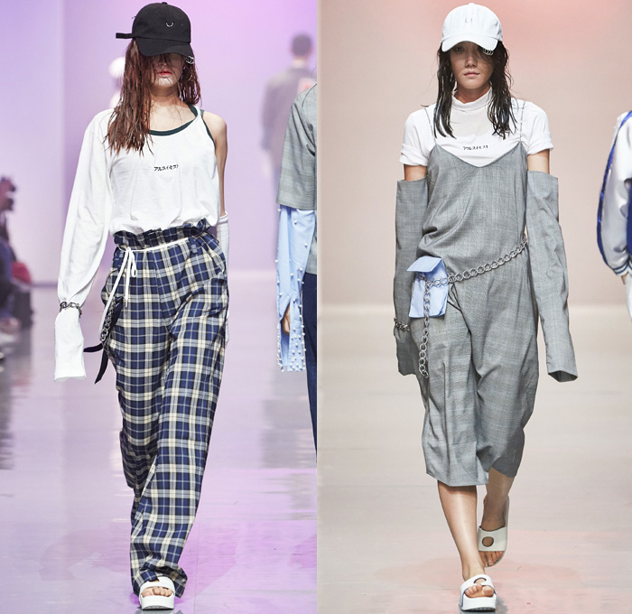 R Shemiste 2016 Spring Summer Womens Runway Looks Denim Jeans Fashion Week Runway Catwalks