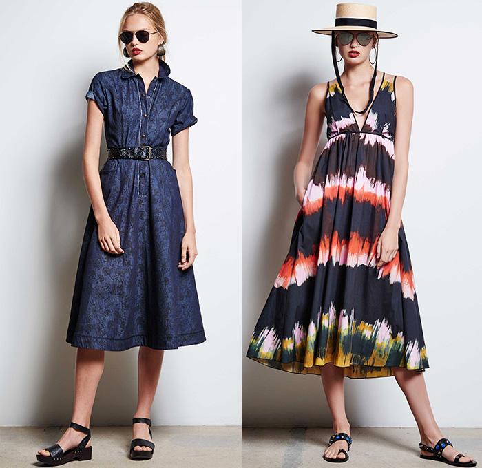 Tomas Maier 2016 Spring Summer Womens Lookbook Presentation New York Fashion Week Denim Jeans