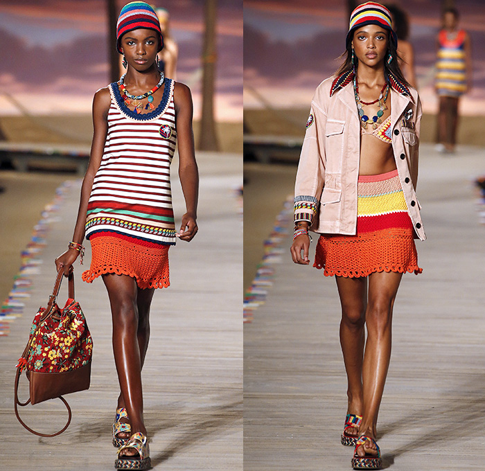 034f4c7441d Tommy Hilfiger 2016 Spring Summer Womens Runway Catwalk Looks - New York  Fashion Week - Denim