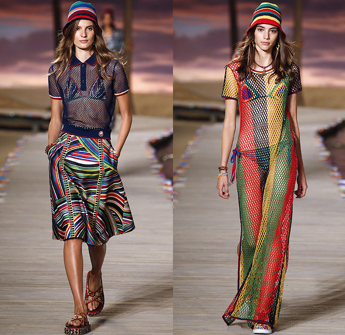 Tommy Hilfiger 2016 Spring Summer Womens Runway Looks
