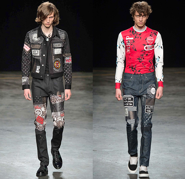 Topman Design 2016 Spring Summer Mens Runway Looks Denim Jeans Fashion Week Runway Catwalks