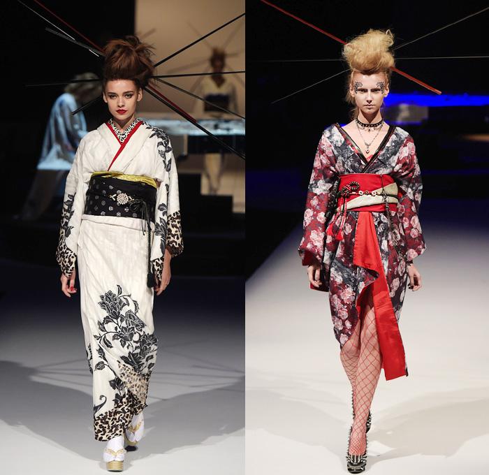 Yoshikimono 2016 Spring Summer Womens Catwalk Looks Denim Jeans Fashion Week Runway Catwalks