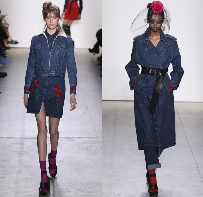 4fc1d60861 Adam Selman 2017-2018 Fall Winter Womens Runway Catwalk Looks - New York  Fashion Week