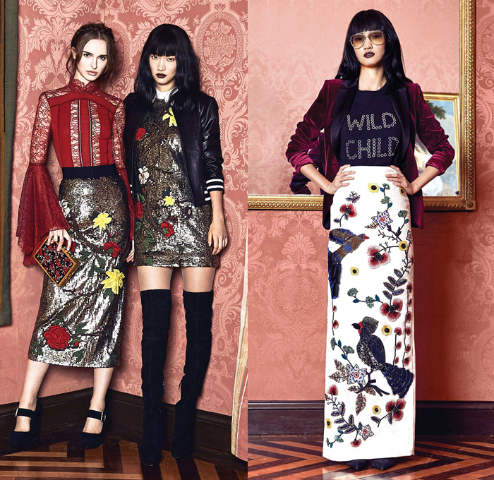 Alice Olivia 2017 2018 Fall Autumn Winter Womens Denim