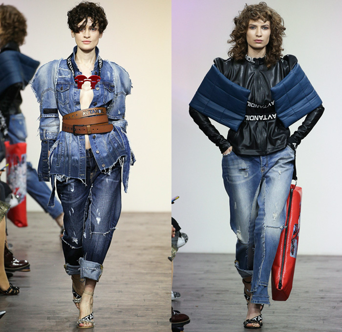 Avtandil 2017 2018 Fall Winter Womens Runway Looks Denim
