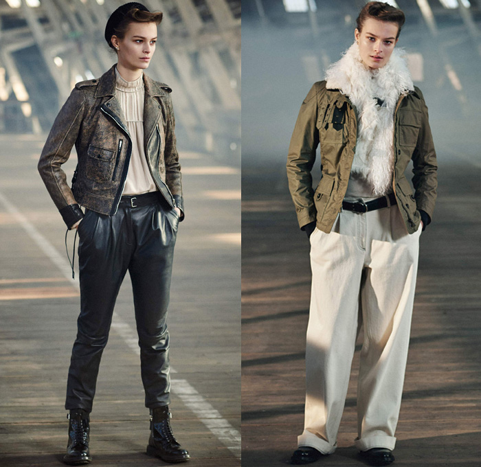 198b7b1e2748 Belstaff England 2017-2018 Fall Autumn Winter Womens Lookbook Presentation  - London Fashion Week Collections