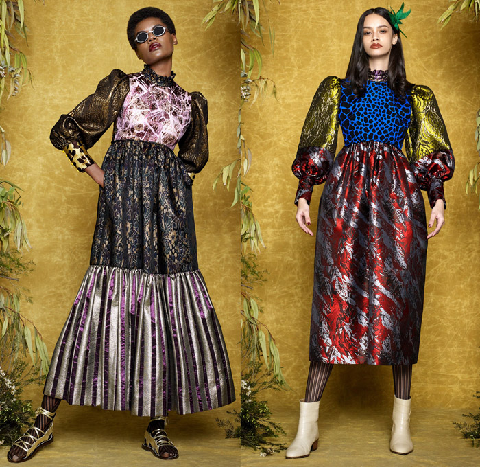 Duro Olowu 2017 2018 Fall Winter Womens Looks Denim