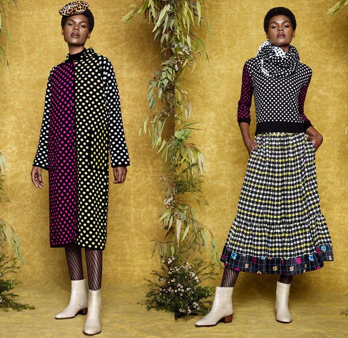 Duro Olowu 2017-2018 Fall Winter Womens Looks | Denim Jeans