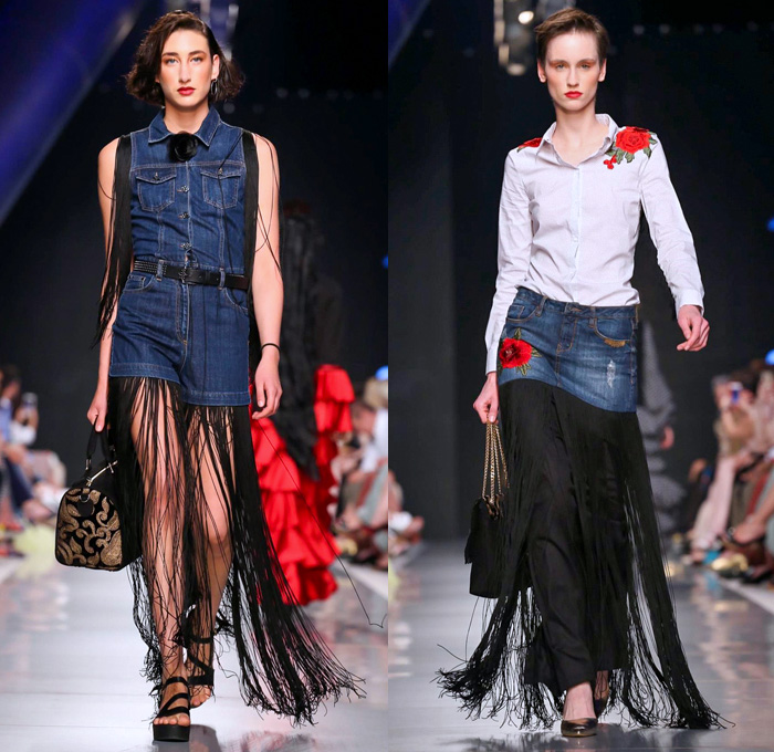 Jeans Couture 2017 2018 Fall Winter Womens Runway Denim