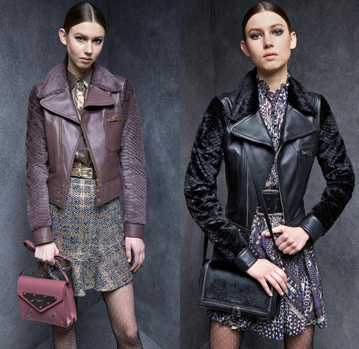 Just Cavalli 2017-2018 Fall Autumn Winter Womens Lookbook Presentation -  Milano Moda Donna Collezione 167acc72805