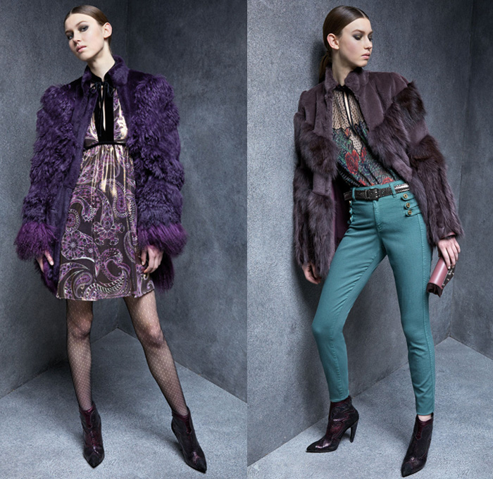 e5e5440911d5f Just Cavalli 2017-2018 Fall Autumn Winter Womens Lookbook Presentation -  Milano Moda Donna Collezione